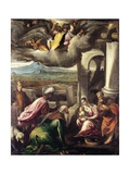 Adoration of the Magi Giclee Print by Francesco Bassano the younger