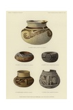Food Bowls from Chevlon, Homolobi and Four-Mile, Arizona Giclee Print