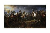 Battle of Austerlitz, December 2, 1805 Giclee Print by Francois Gerard