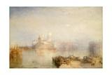 The Dogana and Santa Maria Della Salute, Venice, 1843 Giclee Print by Joseph Mallord William Turner