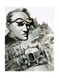 Henry Segrave Was the First Man to Break the 200Mph Barrier Giclee Print by Graham Coton