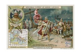 The Vandals Led by Genseric Land on the Coast of Africa, 428 Giclee Print