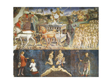 Triumph of Apollo and Sign of Gemini, Ca 1470 Giclee Print by Francesco del Cossa