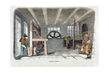 A Cocoa Mill in Grenada, Engraved Giclee Print by Francois Pierdon