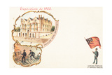 British Royalty Pavilion, Exposition Universelle, Paris, 1900 Giclee Print