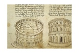 Roman Theatre, Illustration Giclee Print by Francesco di Giorgio Martini