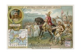 Alaric I, King of the Visigoths, Accepts the Surrender of Rome, 410 Giclee Print