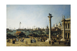 The Bacino Di S. Marco, Venice, from the Piazzetta Giclee Print by  Canaletto