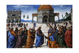 The Delivery of the Keys, 1481-1482 Giclee Print by Pietro Perugino