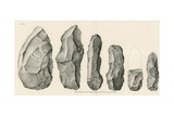 Series of Rejects from the South Mountain Rhyolite Quarry Giclee Print