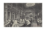 Sheep Being Slaughtered on the Gaming Tables at the Casino in Monte Carlo Giclee Print