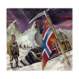 Scott Reached the Pole Only to Find That He Had Been Beaten by Amundsen Giclee Print