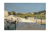 Bridge to Island of Elba, 1888 Impression giclée par Telemaco Signorini
