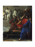 Death of Caesar, March 15, 44 BC Giclee Print by Vincenzo Camuccini