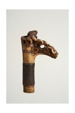 Carved Handle of an Iban Sword from Sarawak, Malaysia Giclee Print