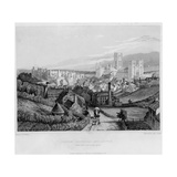 Durham Cathedral and Castle from Newcastle Road, 1841 Giclee Print