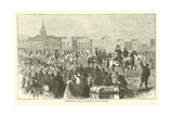 Grierson's Command Entering Baton Rouge, April 1863 Giclee Print