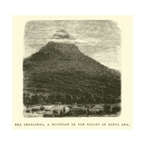 The Urusayhua, a Mountain in the Valley of Santa Ana Giclee Print by Édouard Riou