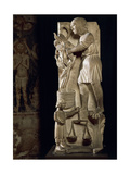Sculpture Representing Month of September Giclee Print by Benedetto Antelami