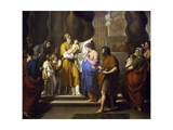 Presentation at Temple, 1808 Giclee Print by Vincenzo Camuccini