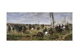 Assault on Madonna Della Scoperta, 1864-1868 Giclee Print by Giovanni Fattori