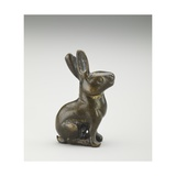 Figure of a Hare Seated on its Haunches, Tang Dynasty, 618-907 Giclee Print