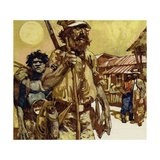 The First Exploration of Australia Was Undertaken by Edward John Eyre Giclee Print