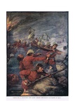 Thus Did One Hundred Men Keep Three Thousand Savages at Bay Giclee Print by Joseph Ratcliffe Skelton