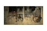 Stories of St James and St Christopher, 1454 - 1457 Giclee Print by Andrea Mantegna