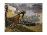 Cleopatra on the Terraces of Philae, 1896 Giclee Print by Frederick Arthur Bridgman