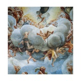 Assumption of Virgin, 1526-1530 Giclee Print by Antonio Allegri Da Correggio