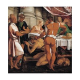 Martyrdom of John Baptist, Circa 1548 Giclee Print by Jacopo Bassano