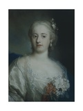 Portrait of Anne Carlotta Gauthier Giclee Print by Rosalba Carriera