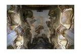 Frescoed Vault of Church of St. Nicholas, Lesser Town Giclee Print