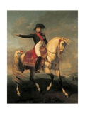 Equestrian Portrait of Napoleon I, 1810 Giclee Print by Joseph Chabord