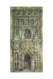 Arch of Alfonso of Aragon in Naples Giclee Print by Antonio Pisano