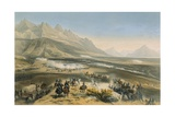 Battle of Buena Vista, February 21-23, 1847 Giclee Print by Carl Nebel