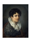 Portrait of Matilde Mazenchini Giclee Print by Vincenzo Camuccini