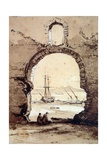 The Bay of Naples from Posillipo Giclee Print by Giacinto Gigante