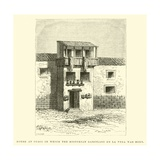 House at Cuzco in Which the Historian Garcilaso De La Vega Was Born Giclee Print by Édouard Riou