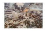 The Glory of France: Smashing a German Massed Attack at Verdun Giclee Print by Arthur C. Michael