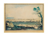 View of Ringsend from Merrion Square, Dublin, 1790 Giclee Print by John Henry Campbell