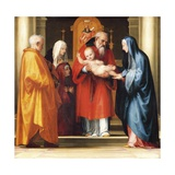 Presentation of Jesus in Temple Giclee Print by Fra Bartolomeo