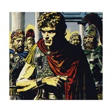 Alexander Was a Tyrant, Paying Off or Killing Those Opposed to Him Giclee Print by Jesus Blasco
