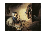 Abandoned or Fallen Woman, 1844 Giclee Print by Giuseppe Molteni