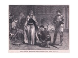 Prince Edward Introducing Ad Am Gourdon to the Queen Ad 1270 Giclee Print by Walter Paget