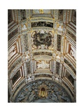 Ceiling of Golden Staircase at Doge's Palace Giclee Print by Jacopo Sansovino