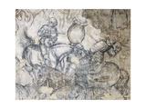Tournament, Battle of Louvezerp Giclee Print by Antonio Pisano
