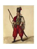 Carabineer Uniform Giclee Print by Jan van Grevenbroeck