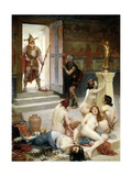 Brennus and His Share of Spoils or Spoils of Battle Giclee Print by Paul Joseph Jamin